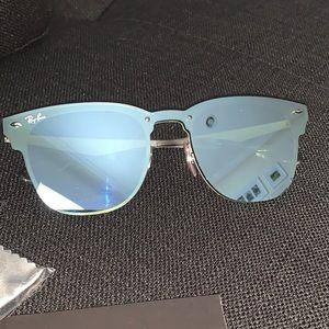"Ray-Ban mirrored sunglasses ""Blaze Clubmaster"""
